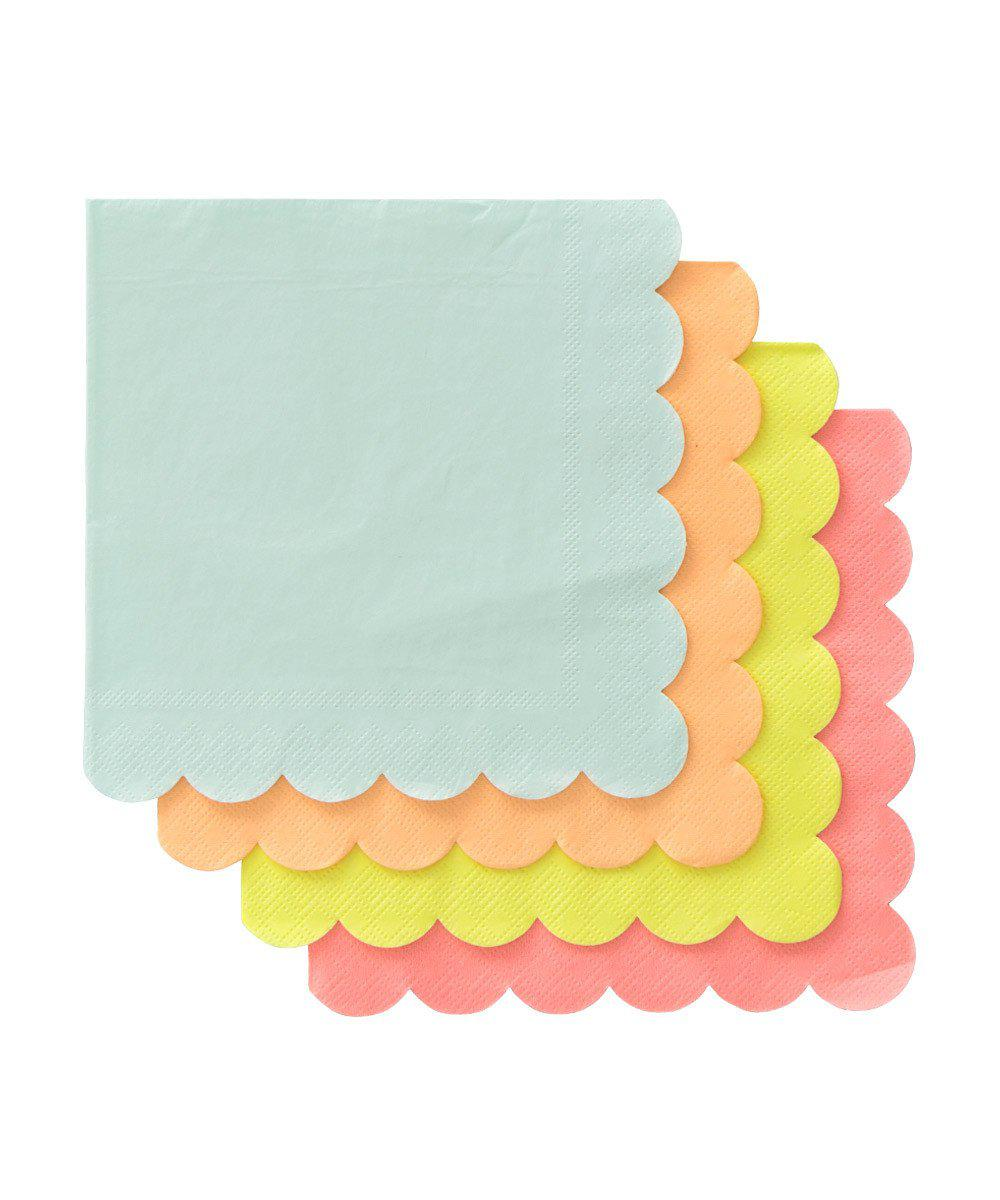 Neon Party Napkins (Large)