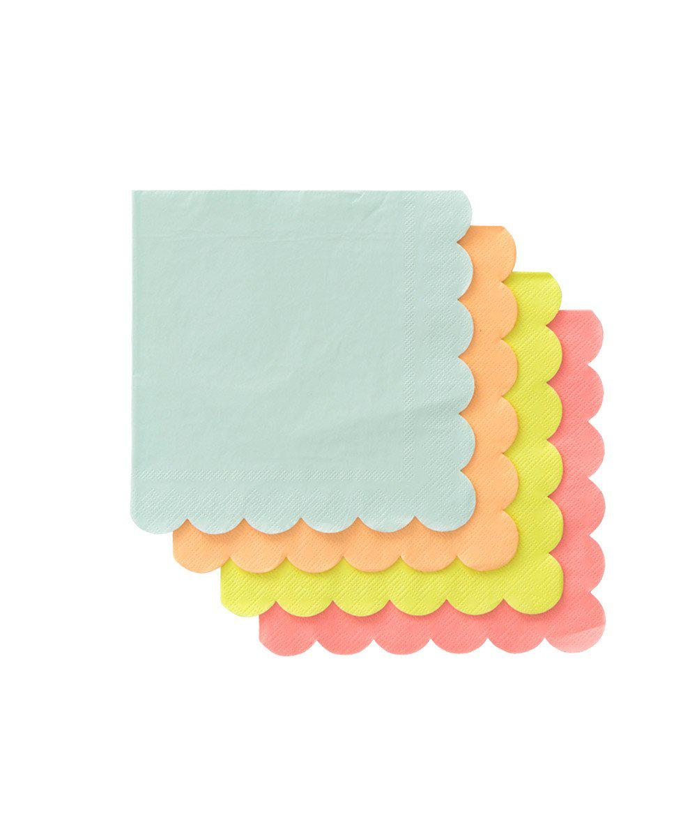 Neon Party Napkins (Small)