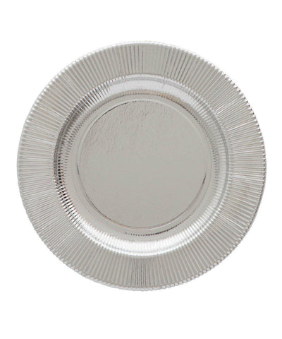 Metallic Righe Plates (Large)