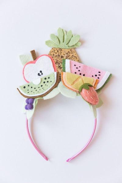 Felt Fruit Crown