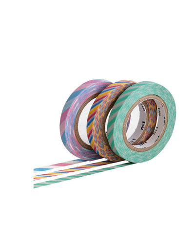 Washi Tape Slim Twist Set of 3