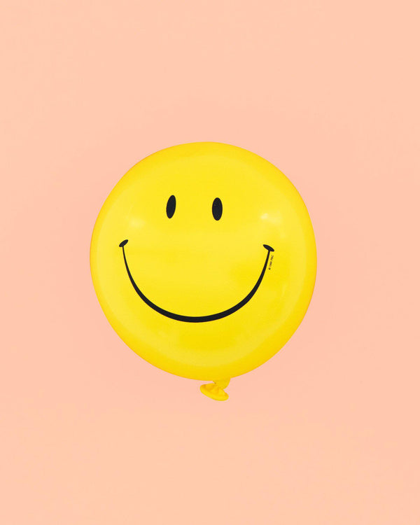 """Details about  /JOB LOT 25 MULTI COLOURED SMILES 11/"""" LATEX BALLOONS HAPPY FACES"""