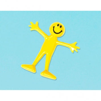 Favors Smiley Bendable Person