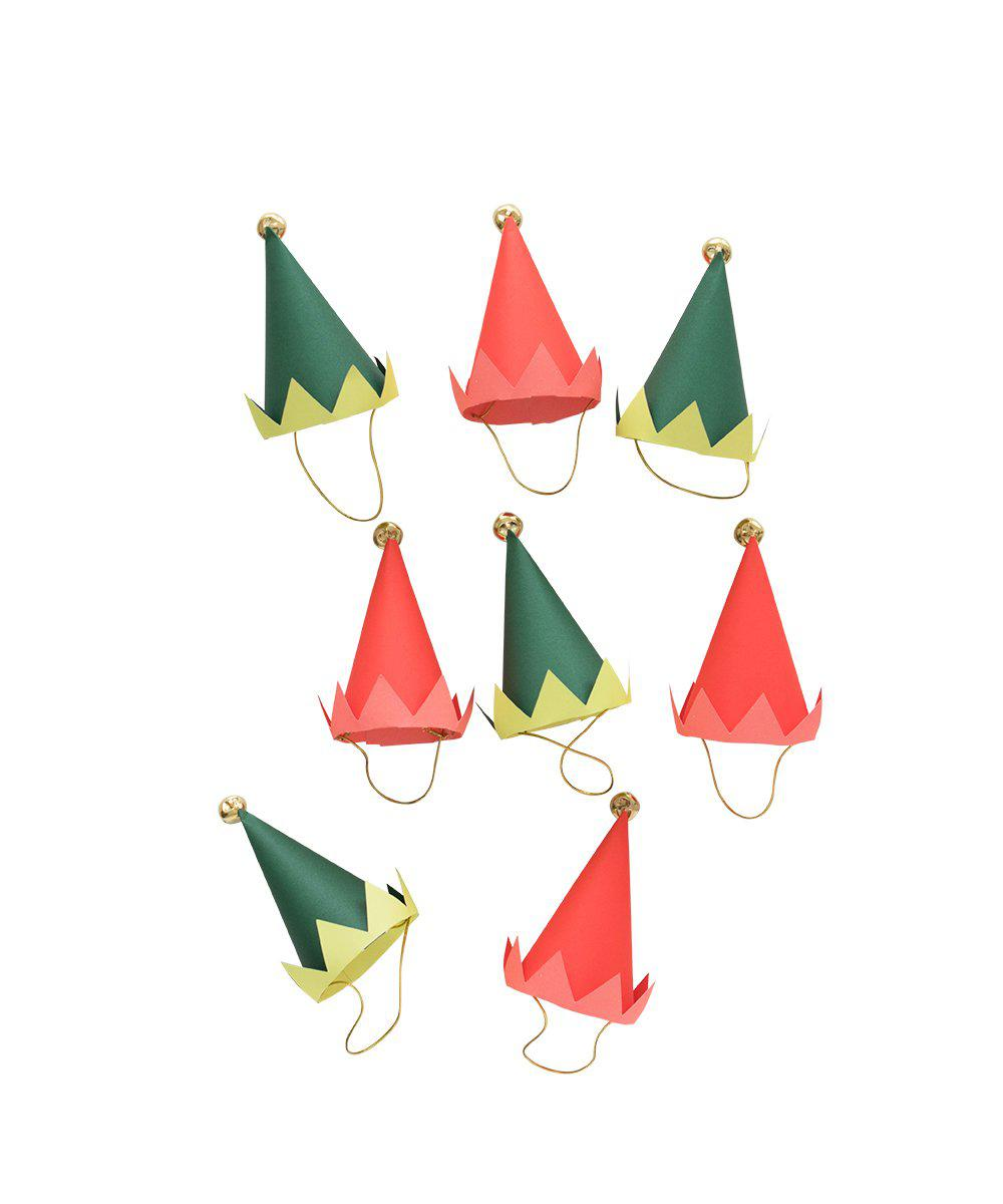 Holiday Elf Party Hats