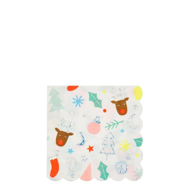 Festive Fun Napkins (small)