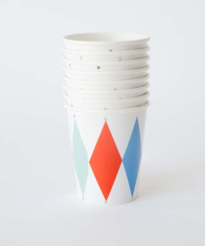 Harlequin Party Cups