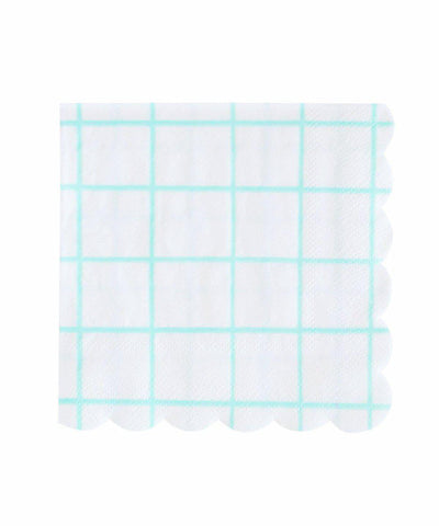 Grid Napkins (Large)