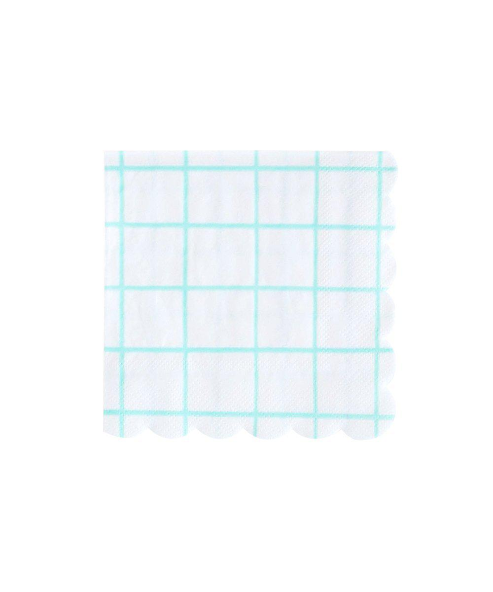 Grid Napkins (Small)