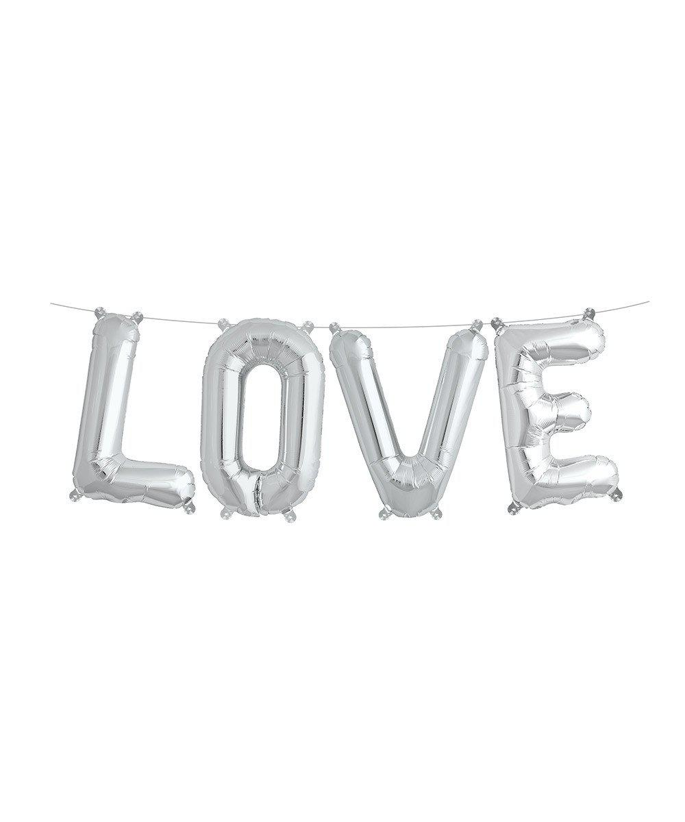 "Mylar 16"" Love Balloon Banner"