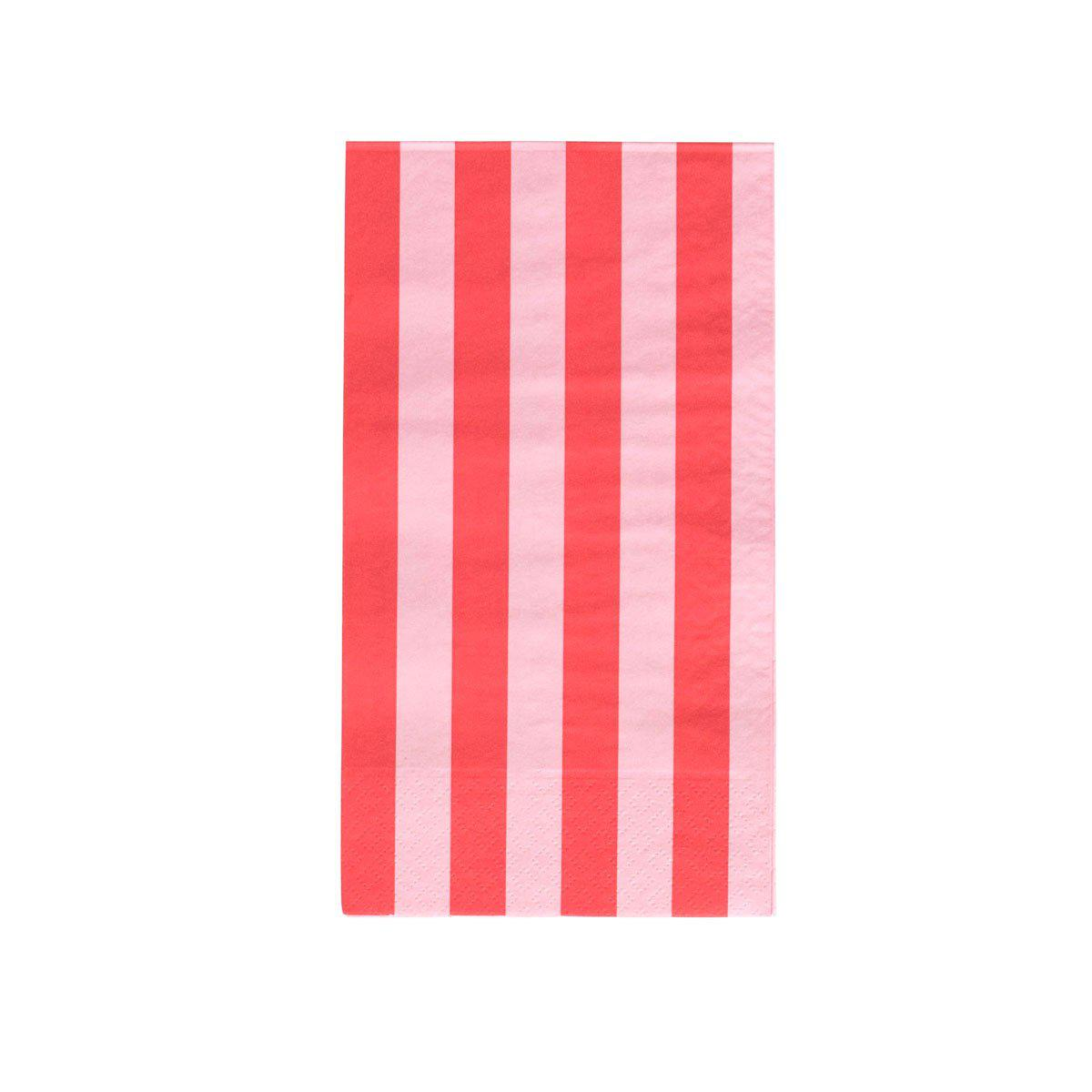 Oh Happy Day Stripes Napkins (Dinner)