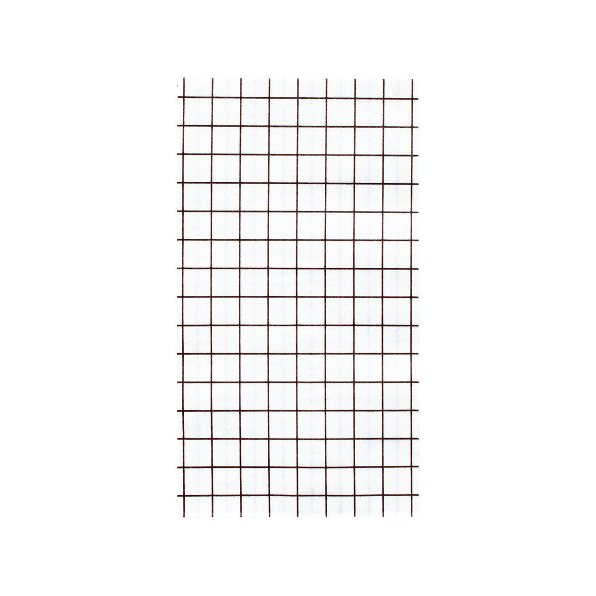 Oh Happy Day Grid Napkins (Dinner)