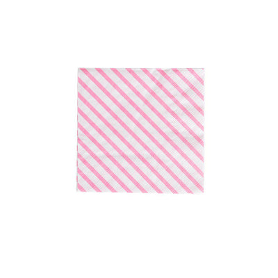 Oh Happy Day Stripes Napkins (Cocktail)