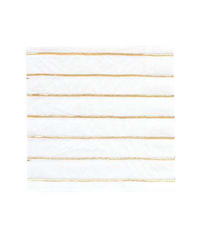 Frenchie Striped Napkins