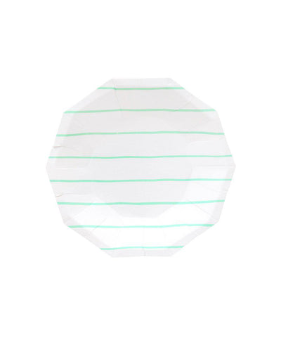 Frenchie Striped Plates (Small)