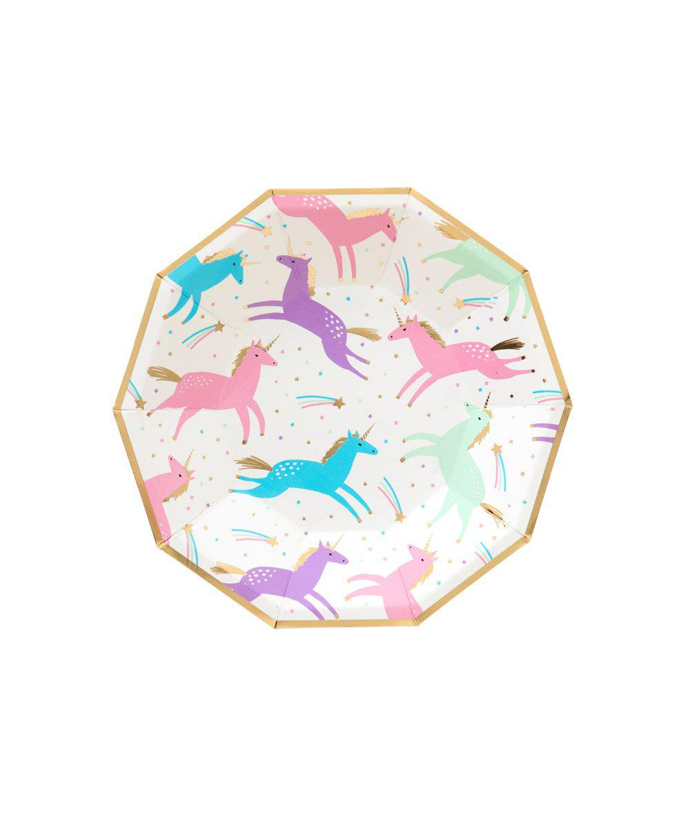 Magical Unicorn Plates (Small)