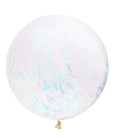 Giant Rectangle Confetti Balloon