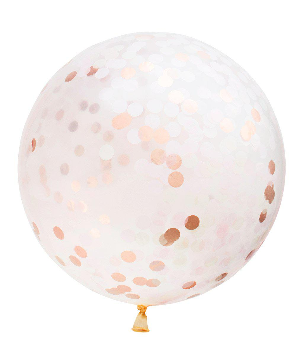 Giant Circle Confetti Balloon
