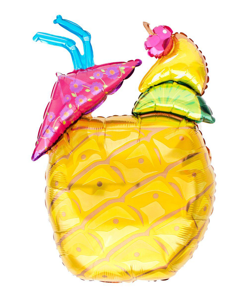 Mylar Pineapple Drink Balloon