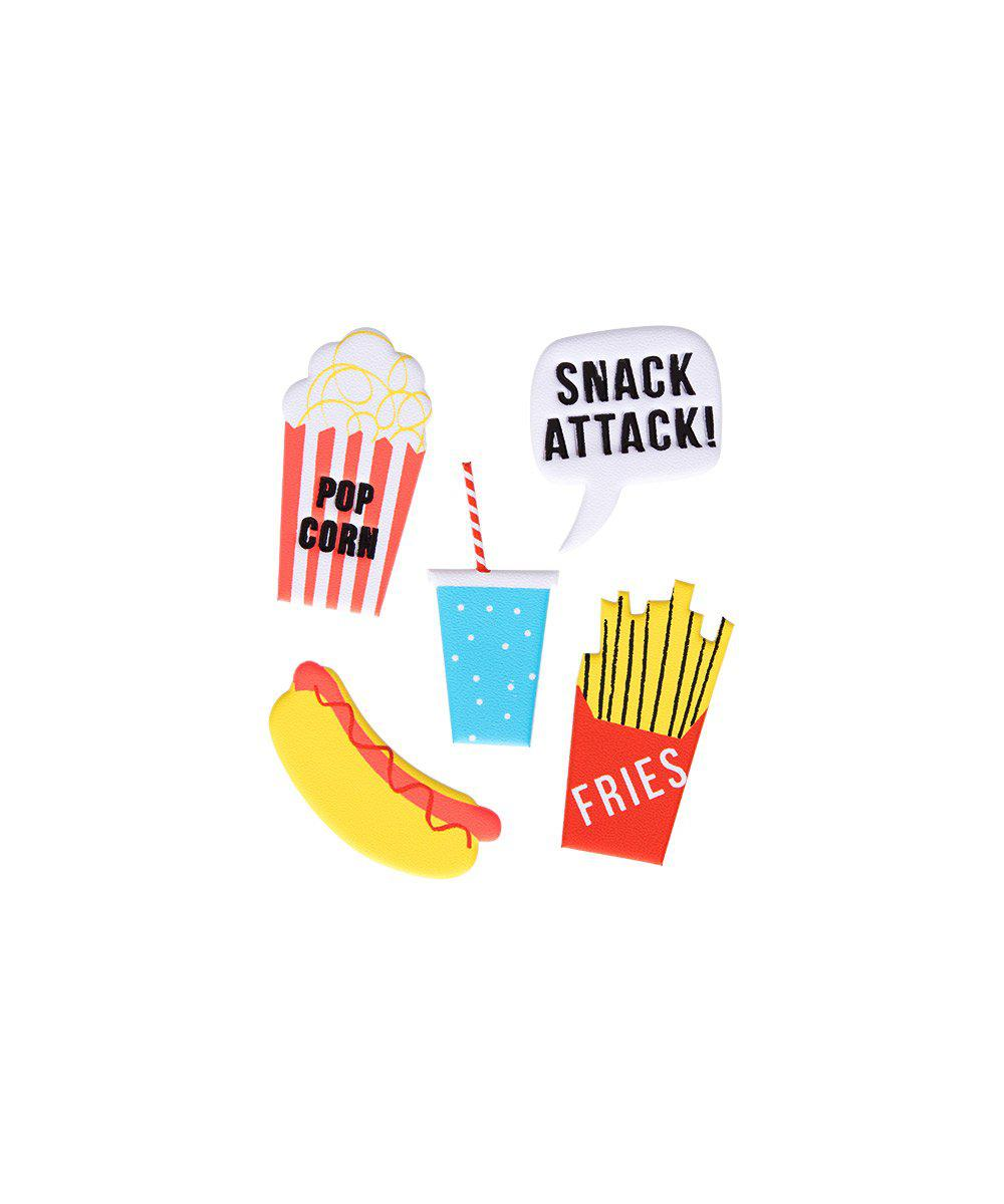 Puffy Snack Attack Stickers