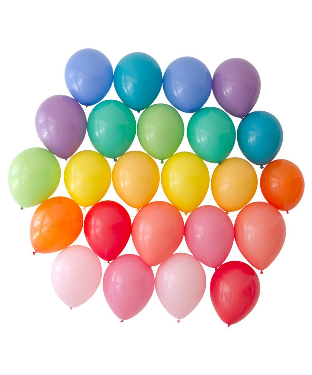 Oh Happy Day Rainbow Balloon Bundle 11""