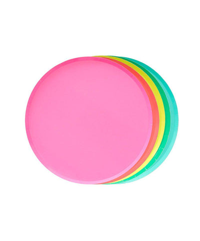 Oh Happy Day Rainbow Plate Set (Small)