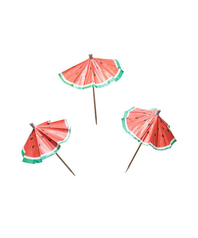 Watermelon Umbrella Picks