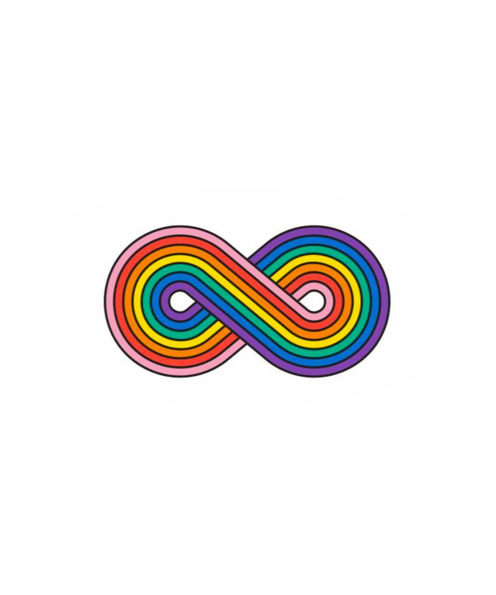 Temporary Tattoos: Forever Rainbow