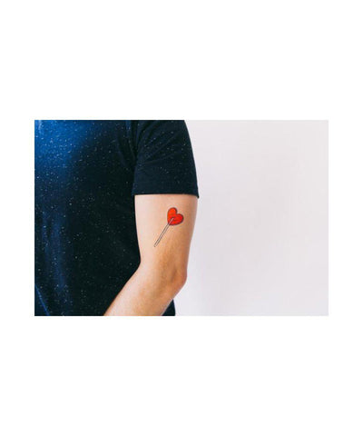Temporary Tattoos: Heart Lolli