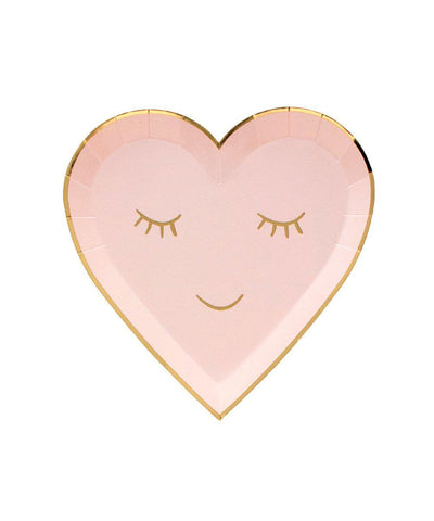 Smiling Heart Plates