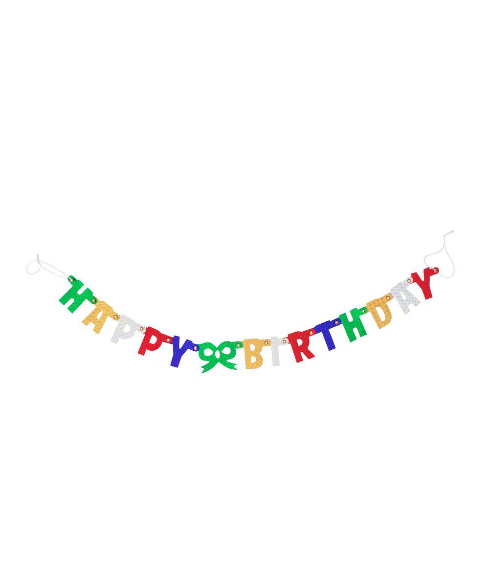 Itty Bitty Birthday Banner