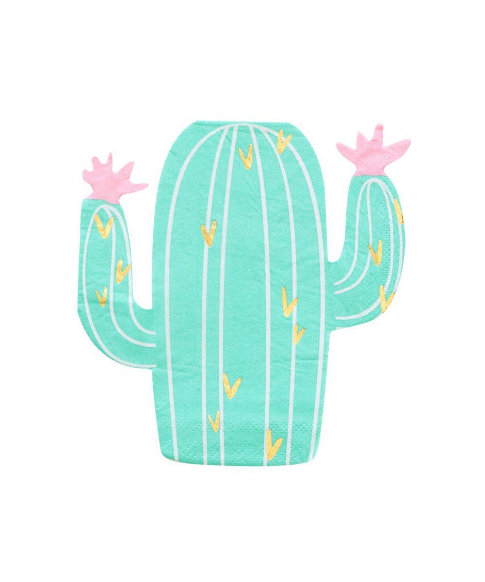 Cactus Shape Party Napkins