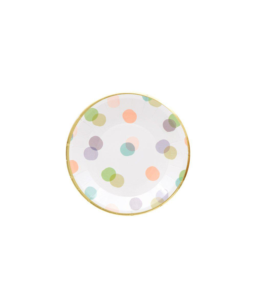 Baby Dots Canape Plates