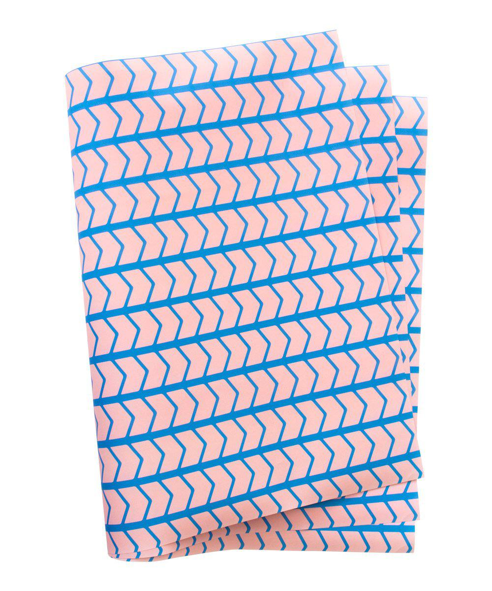 Pink Zig Zag Wrapping Paper
