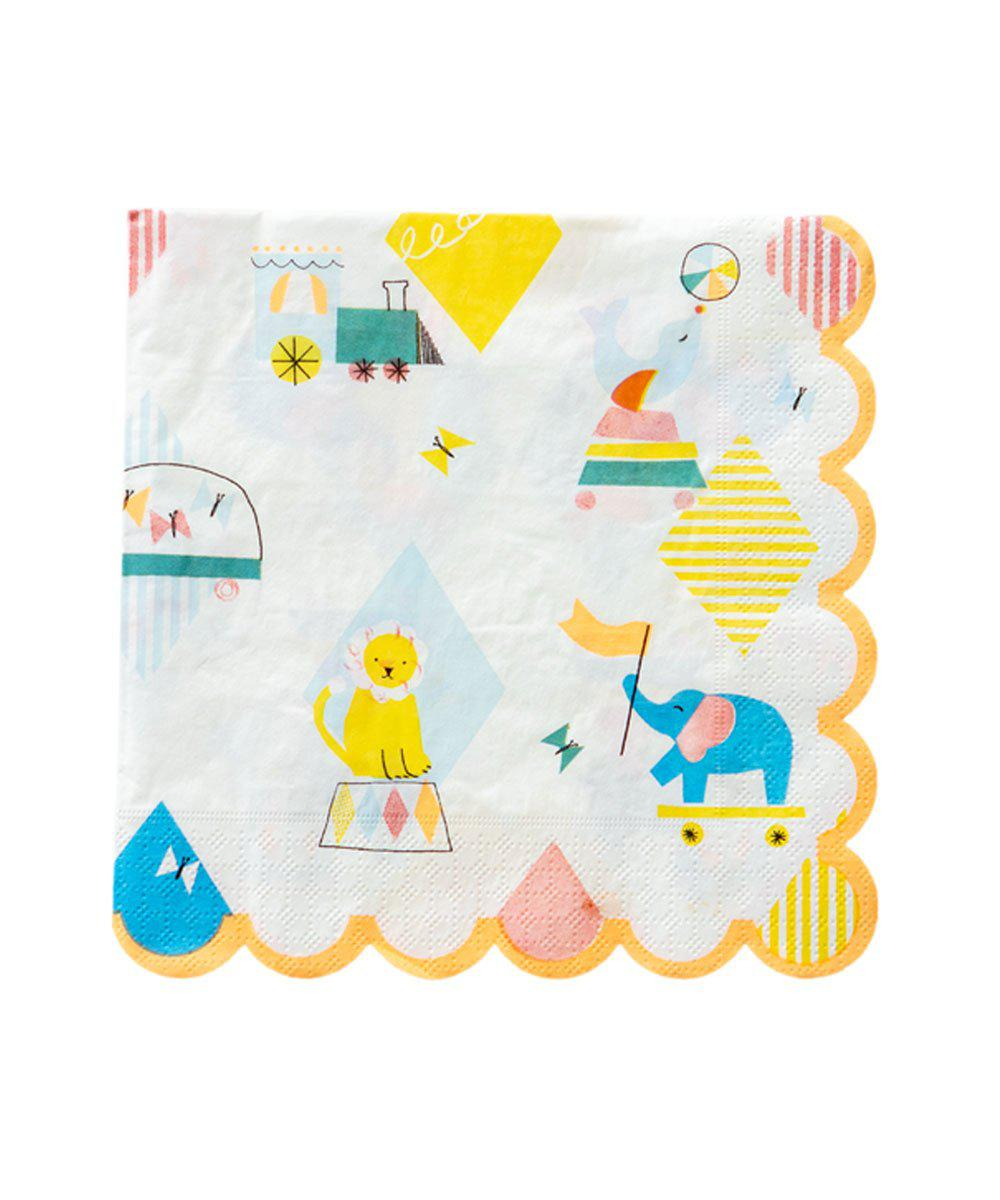 Silly Circus Napkin (Large)
