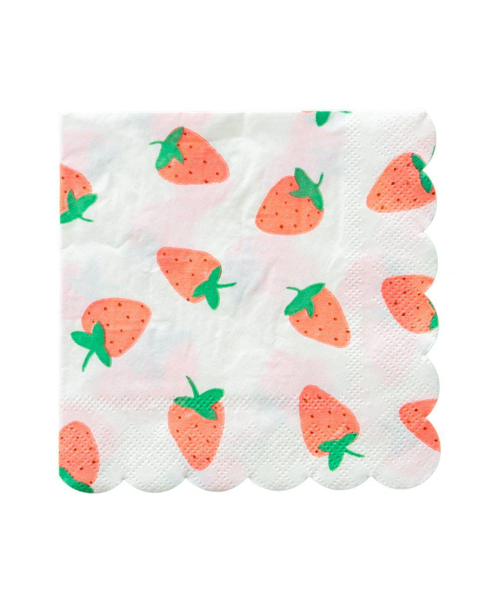 Strawberry Napkins (Large)