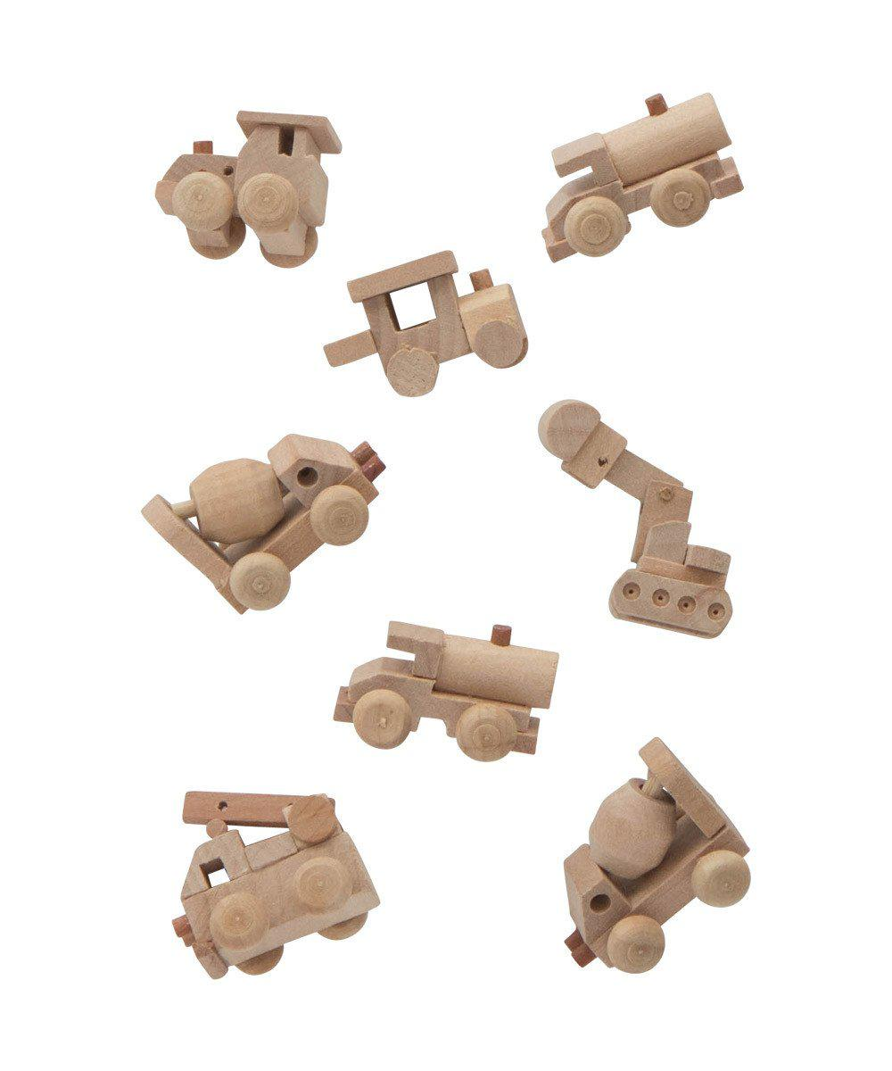 Favors Mini Wooden Trucks