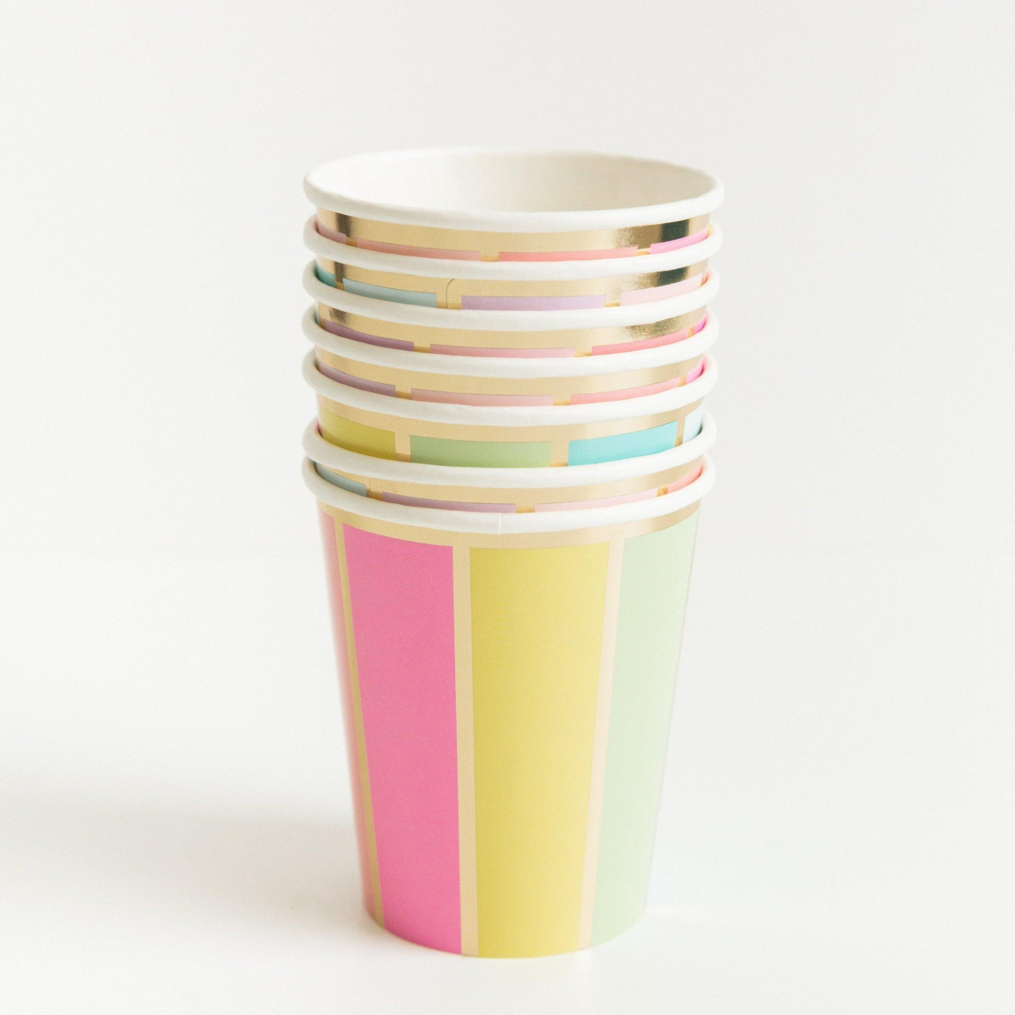 Color Wheel Cups