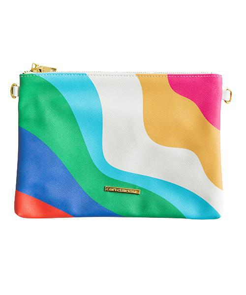 Retro Colorful Clutch