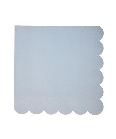 Pastel Scallop Napkins (Large)