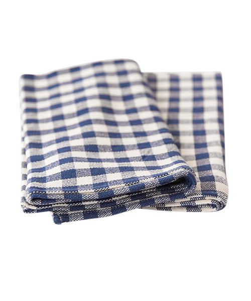 Cotton Gingham Check Table Runner
