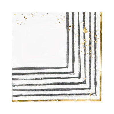 Rebelle Brush Strokes Lunch Napkins