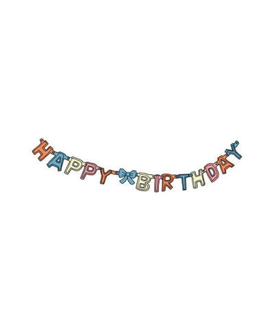 Temporary Tattoos: Birthday Garland