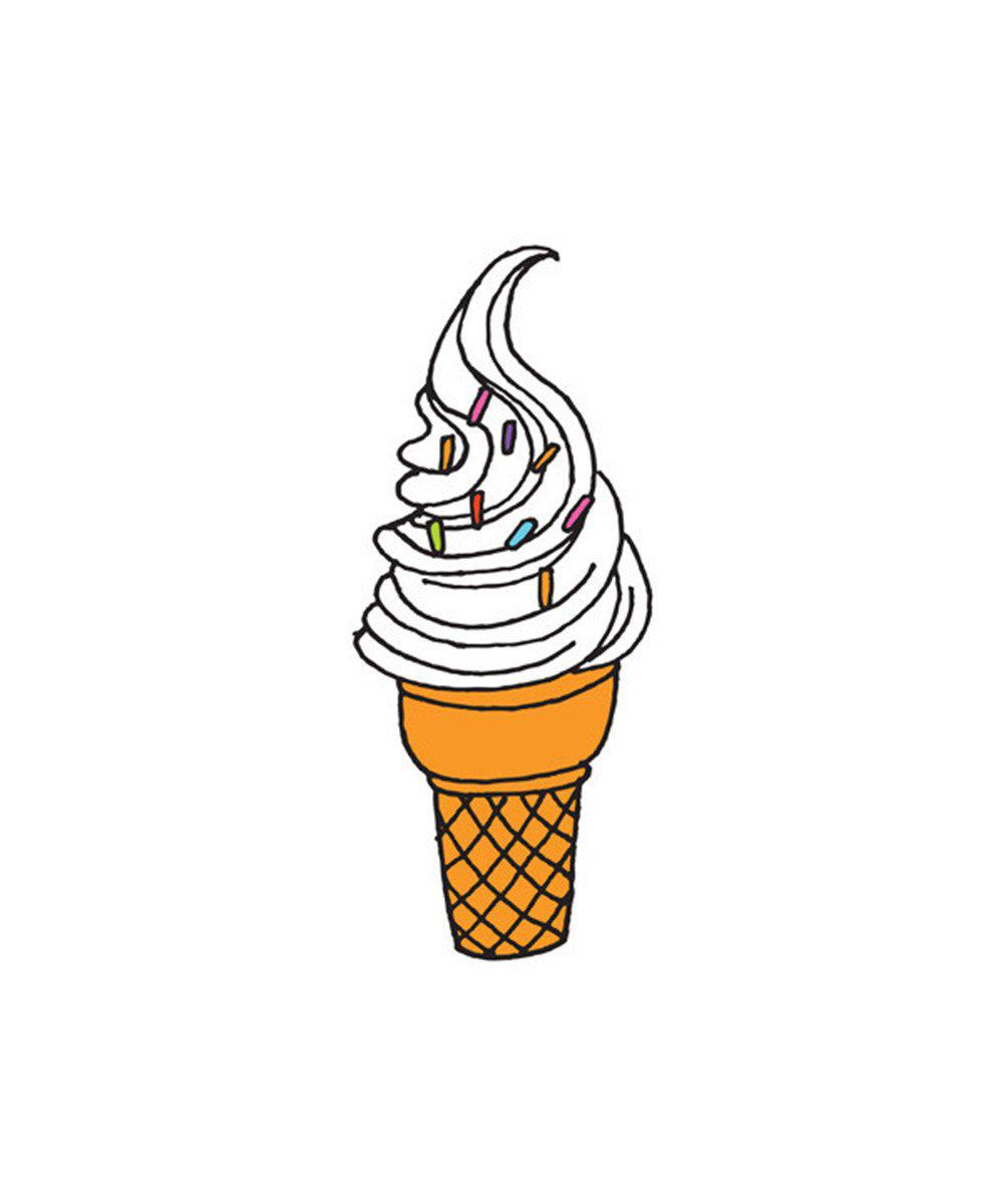 Temporary Tattoos: Soft Serve