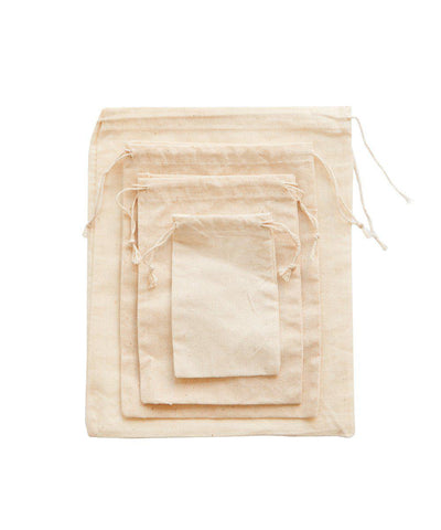 Cotton Side Pull Bag