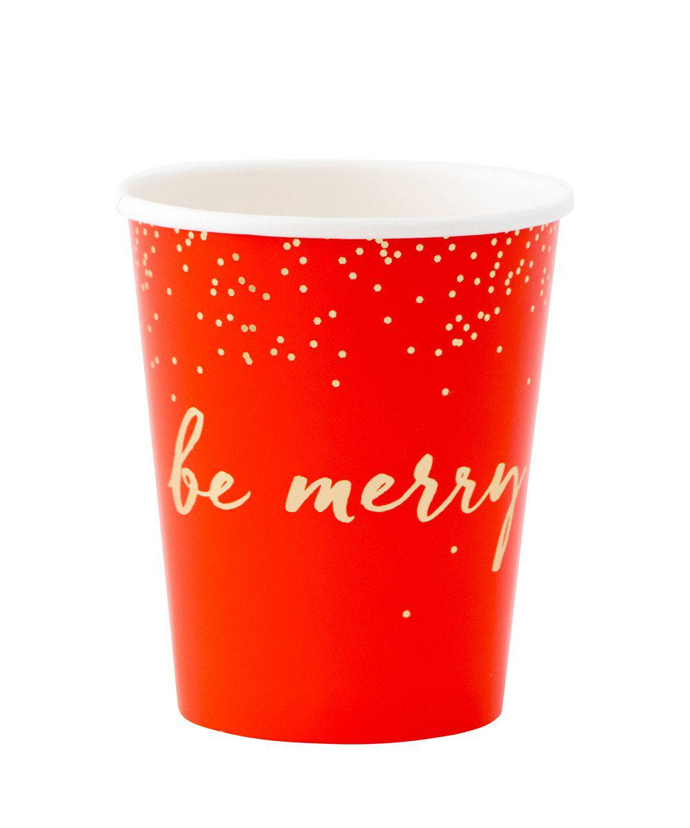 Holiday Glitter Cups