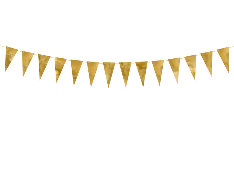 Triangle Foil Garland