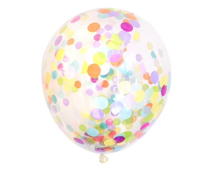 "16"" Confetti Balloons 3 Pack"