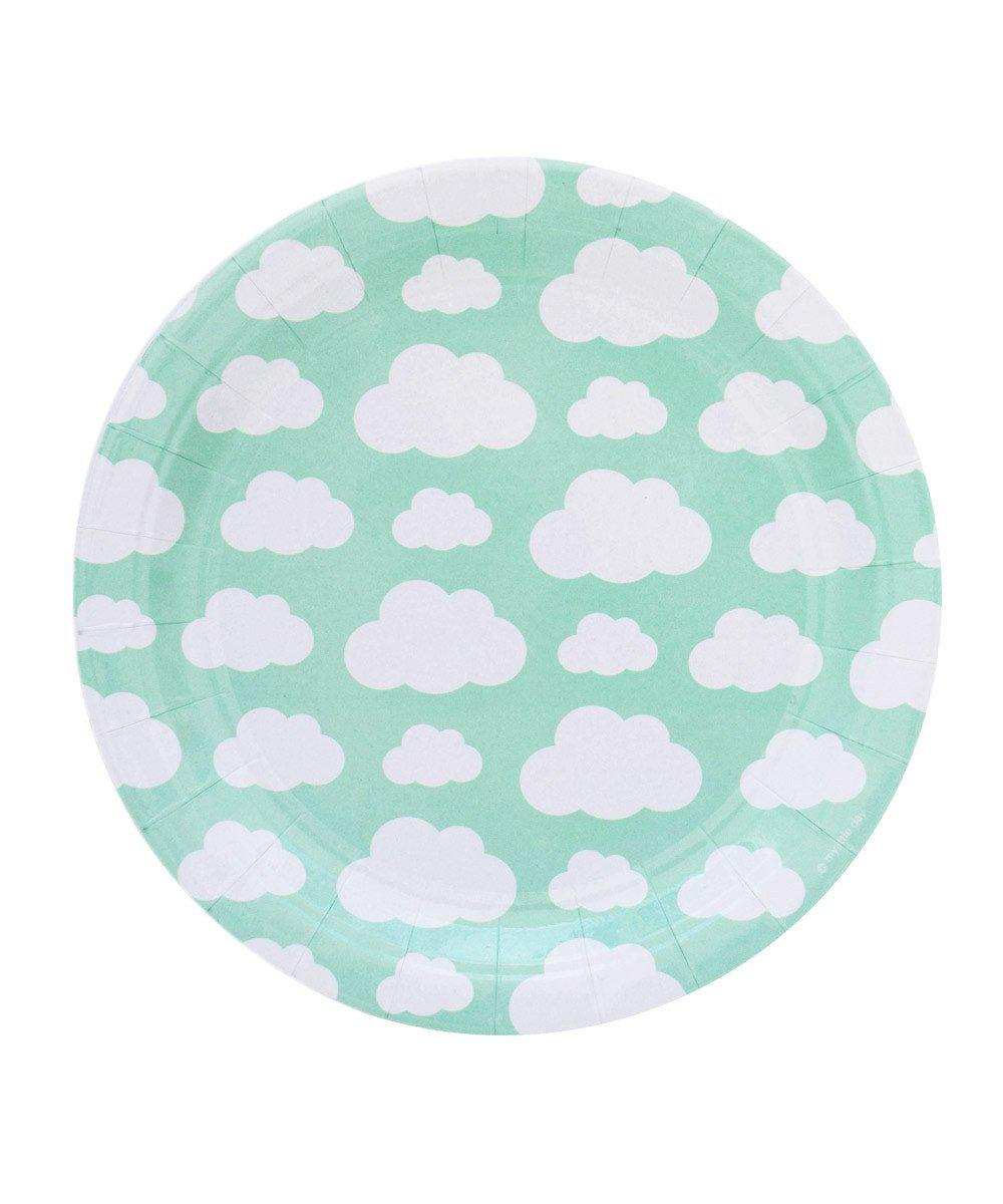 Clouds Party Plates