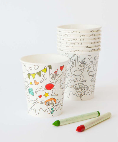 Color Your Own Cups