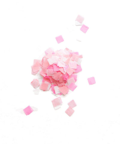 Pink Party Confetti Bag